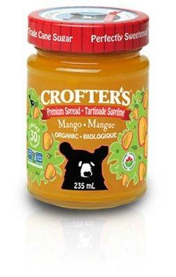 Crofters - Tartinade Mangue Premium biologique