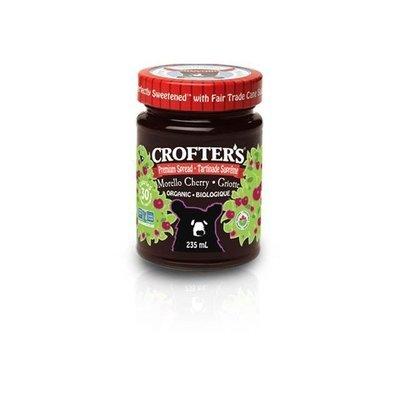 Crofters - Tartinade aux cerises griotte premium biologique