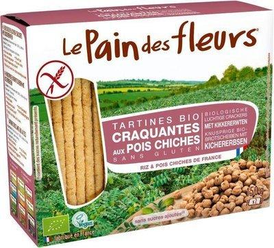 Le Pain des Fleurs - Tartines craquantes aux pois chiches Bio 150g