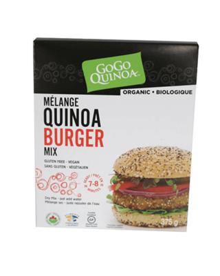Mélange à burger sans gluten biologique
