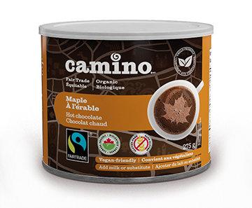 Camino - Chocolat chaud érable bio