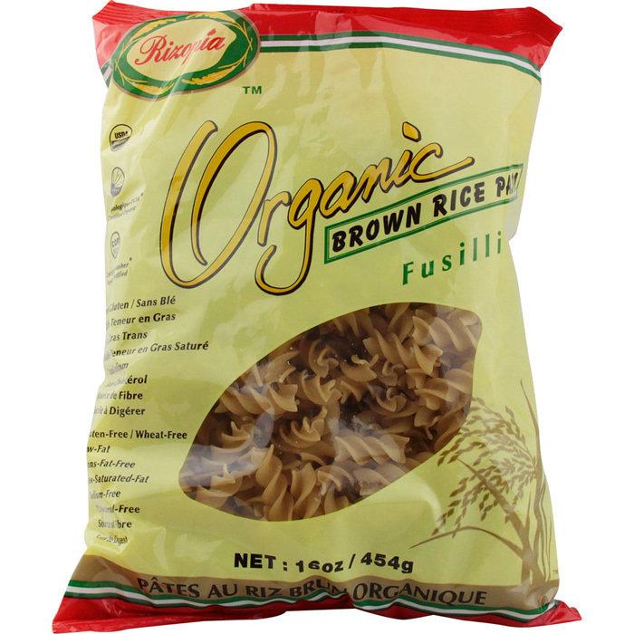 Rizopia - Fusilli au riz brun bio