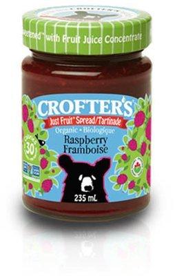 Crofters – Tartinade framboise just fruit