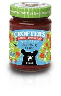 Crofters – Tartinade fraise just fruit