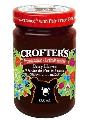 Crofters – Tartinade récolte petits fruits biologique Grand format