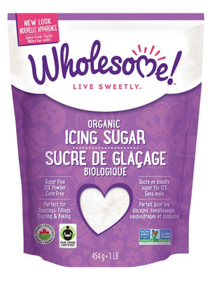 WholeSome - Sucre à glacer bio