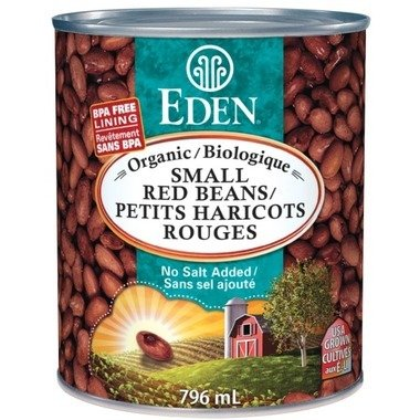 Eden Foods - Petits haricots rouges bio