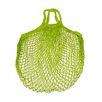 Sac filet vert en coton biologique