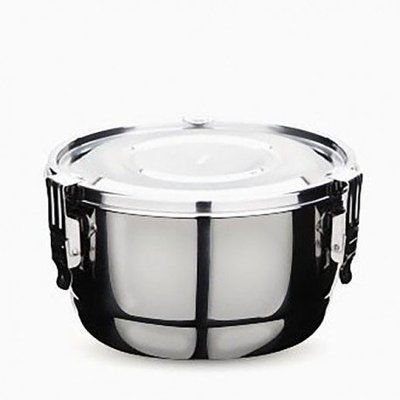 Onyx Containers - Contenant étanche en acier de 10 cm