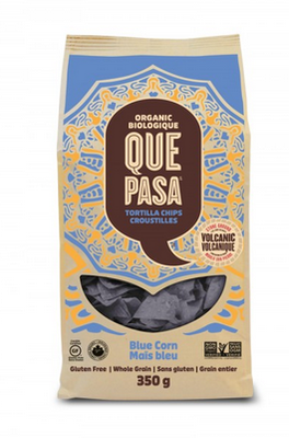 Que Pasa - Chips tortillas de maïs bleu biologiques 350g