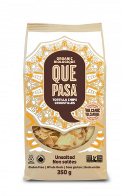 Que Pasa - Chips tortillas de maïs biologiques non salées 300g