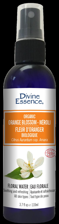 Divine Essence - Eaux florales Fleur d'oranger néroli bio 110ml