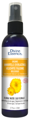 Divine Essence - Eaux florales Hélichryse Italienne bio 110ml
