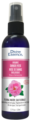Divine Essence - Eaux florales Rose de Damas bio 110ml