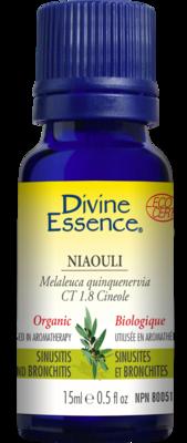 Divine Essence - Huile essentielle Niaouli cineol bio 15ml