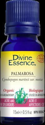 Divine Essence - Huile essentielle Palmarosa bio 15ml