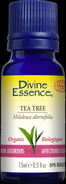 Divine Essence - Huile essentielle Tea tree bio 15ml
