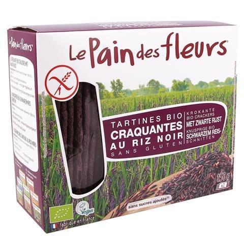 Le Pain des fleurs - Tartine croquante riz noir bio 150g 3040