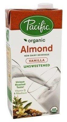Pacific - Boisson amande vanille non sucrée bio 946ml