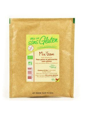 Ma vie sans gluten - Mix'Gom Bio sans gluten bio 60g