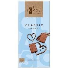 iChoc – Classic chocolat bio 80g TX6057