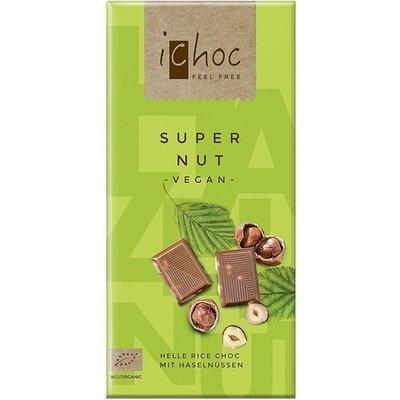 iChoc – Super Nut chocolat bio 80g