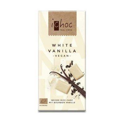 iChoc - White vanilla bio 80g