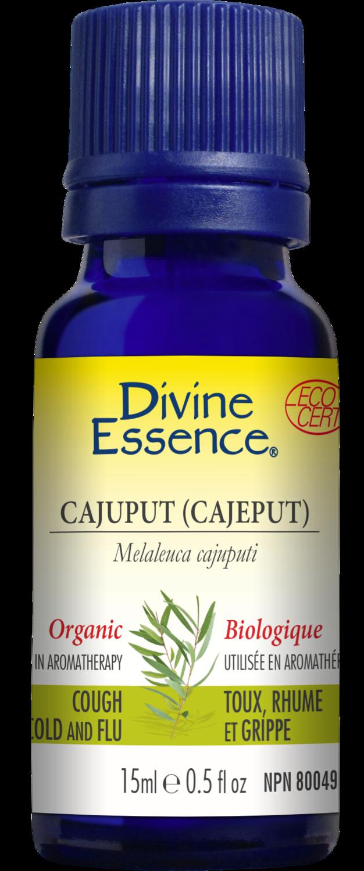 Divine Essence - Huile essentielle Cajuput bio 15ml