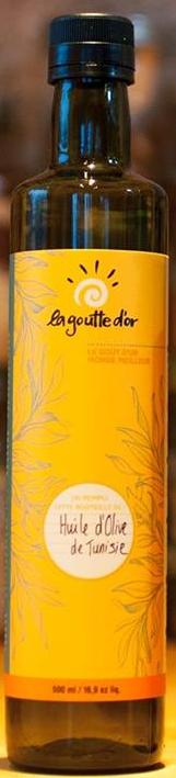 La goutte d'or - Bouteille vide pour huile 500ml TX20029