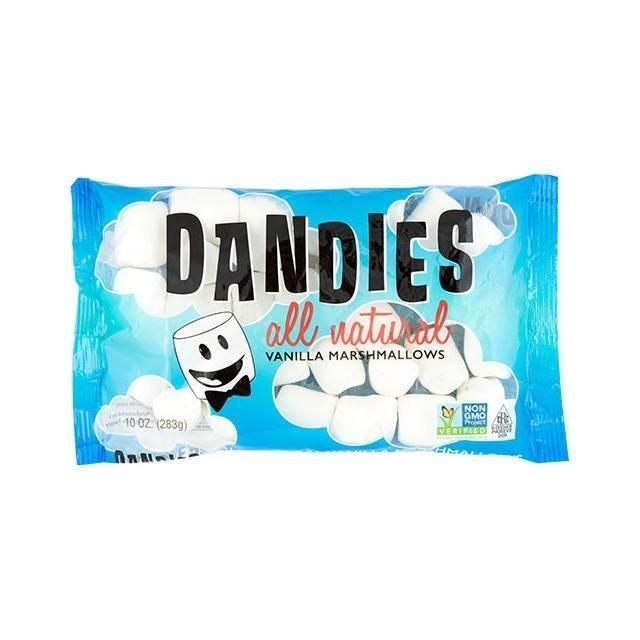 Dandies – Guimauves Marshmallow vanille sans OGM 283G TX6111