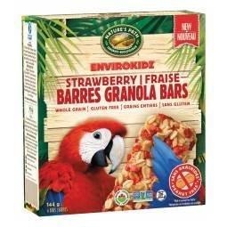Nature's path - Barre granola perroquet fraise bio 6x24g TX4030