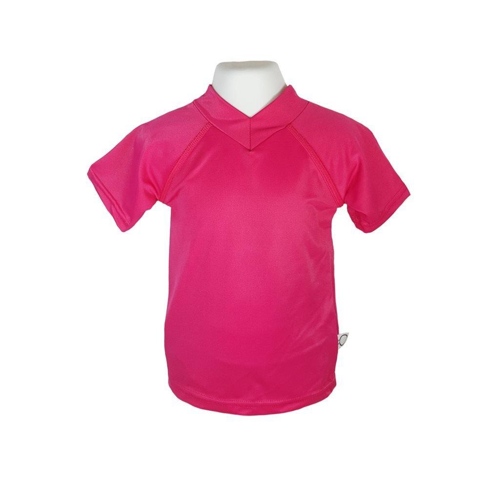 Omaiki - Chandail maillot rose anti-uv UV35+ TX11103