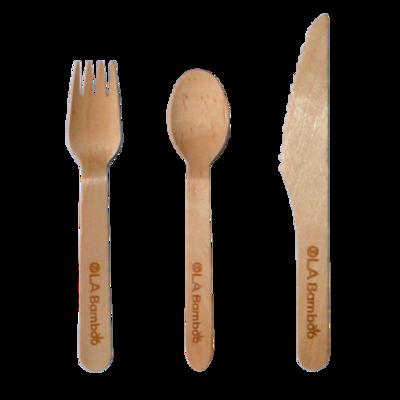 Ola Bamboo - Ustensiles en bois