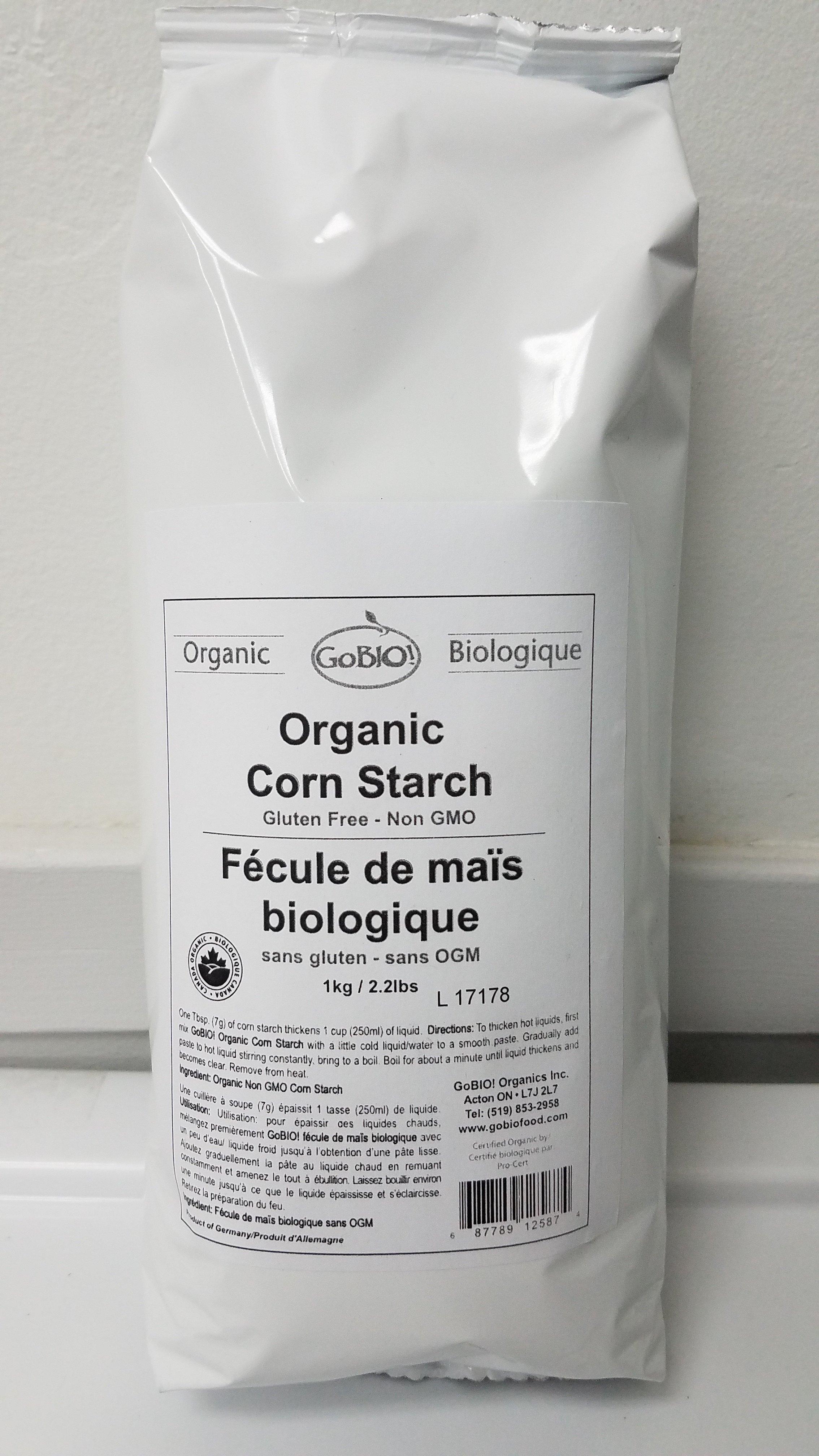Fécule de maïs biologique 1KG VRAC 3054