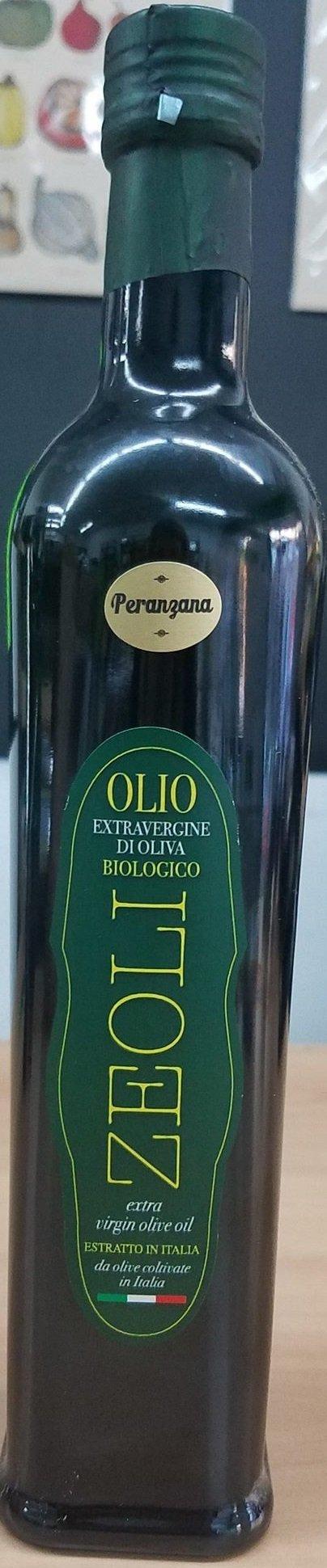 Zeoli - Huile d'olive extra vierge d'Italie Peranzana bio 500ml 18016