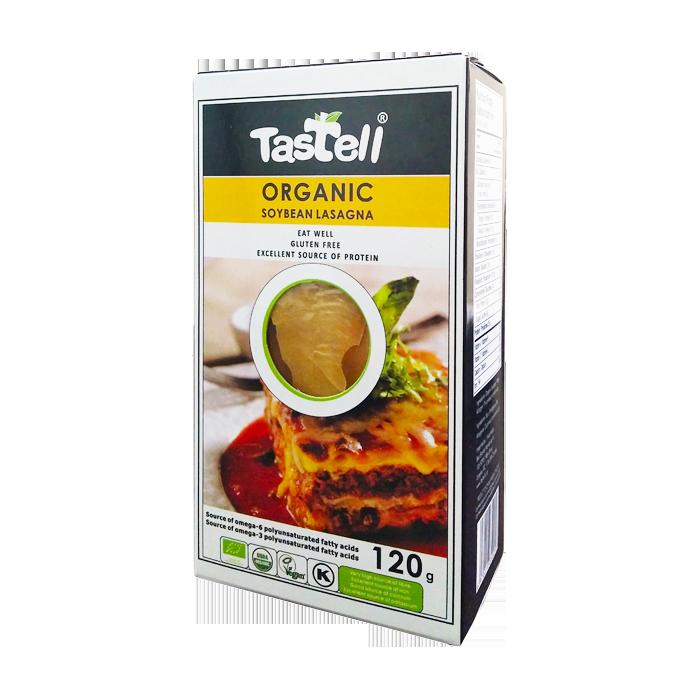 Tastell – Lasagne de soja bio 120g 1069