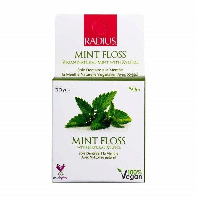 Radius - Soie Dentaire Vegan Menthe 50m TX11141