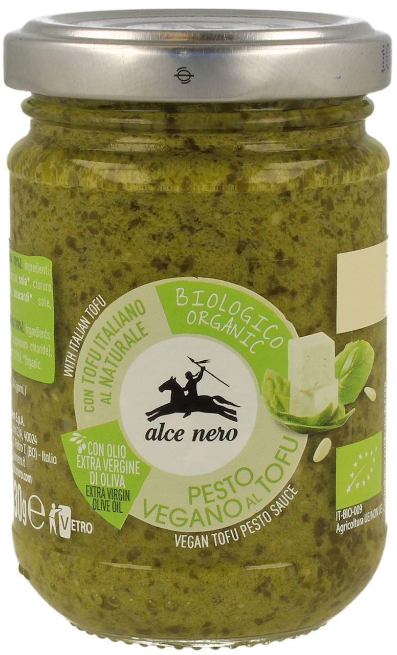 Alce Nero - Sauce pesto tofu bio 130g 8074