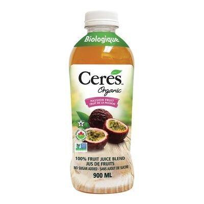 Ceres - Jus de fruit de la passion bio 900ml