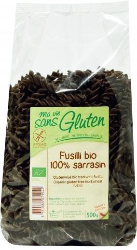 Ma vie sans gluten - Fusilli 100% sarrasin bio 500g