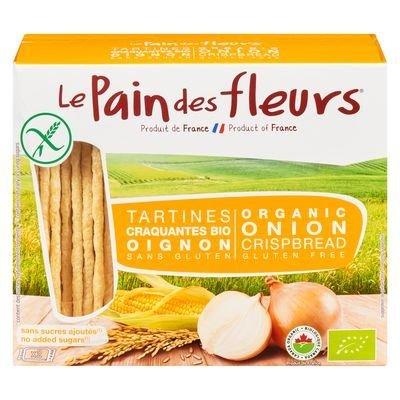 Pain des fleurs - Tartine craquantes oignons bio 150g
