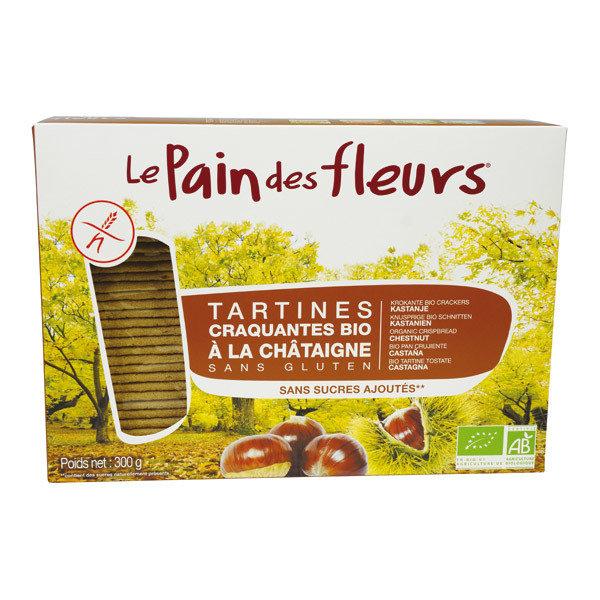 Pain des Fleurs - Tartines bio à la chataigne 150g 3059