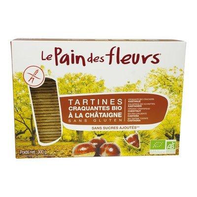 Pain des Fleurs - Tartines bio à la chataigne 150g