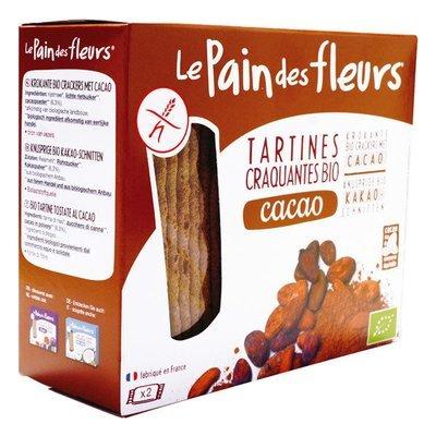 Pain des fleurs - Tartine craquante au cacao bio 160g