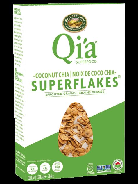 Nature's Path - Cereales Qia chia noix de coco bio 283g 4038