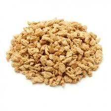 Proteine végétale de soja texturée biologique en gros morceaux 1Kg Vrac 3061