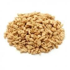 Proteine végétale de soja texturée biologique en gros morceaux 1Kg Vrac