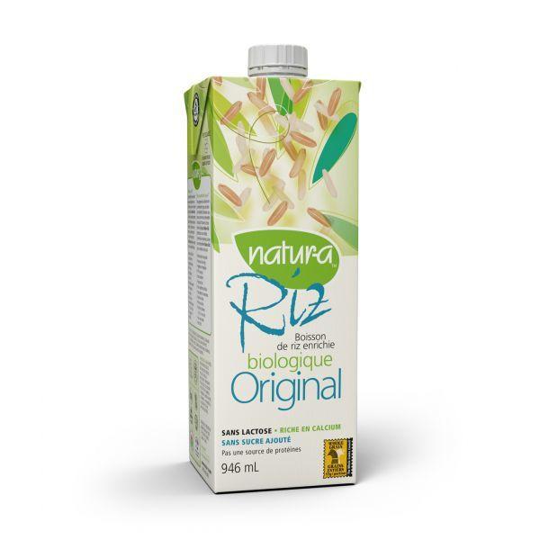 Natura – Boisson de riz original biologique 946ml 10061