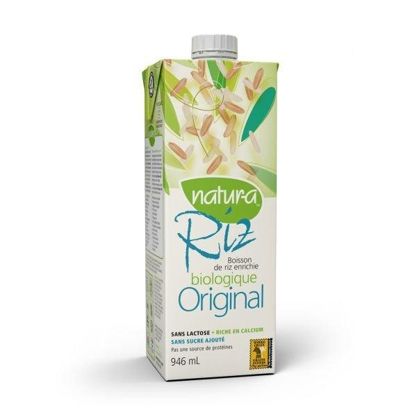 Natura – Boisson de riz original biologique 946ml