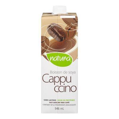 Natura – Boisson de soya cappuccino bio 946ml 10063